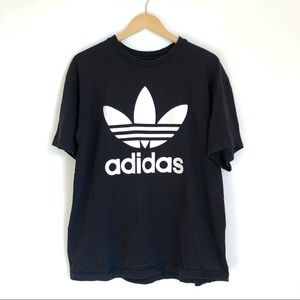 Adidas   Double Side Graphic Logo Tee